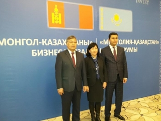 Kazakhstan-Mongolia business forum held in Ulaanbaatar