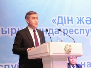 Religion Minister: Kazakhstan stays committed to fighting religious radicalism