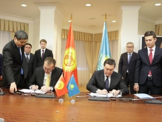 Kazakhstan, Kyrgyzstan ink roadmap for coop