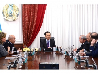 Kazakh PM and Orascom TMT discuss investment projects for digitization