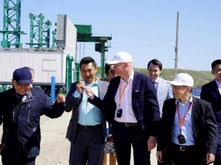 UNDP and EU delegation visits early flood warning system and local agro-industrial complex in Aktobe