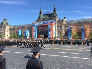 Victory Day parade starts in Moscow's Red Square