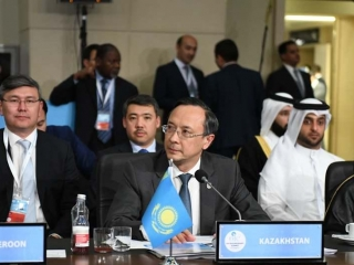 Kazakh foreign minister addresses OIC summit in Istanbul