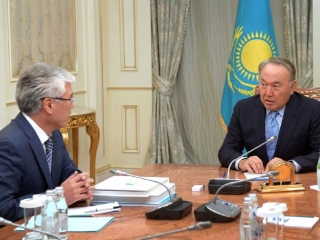 President Nazarbayev receives Culture Minister