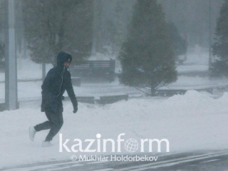 Weather alert: Blowing snow predicted in N Kazakhstan