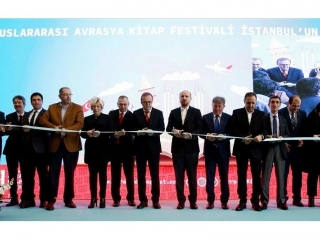 1st international Eurasia book fair opens in Istanbul