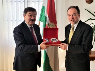 TURKSOY Secretary General Kasseinov met with high-level officials in Hungary