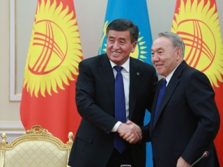 Nursultan Nazarbayev, Sooronbay Jeenbekov talked over phone