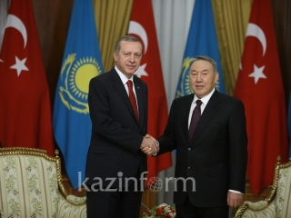 Turkey's Erdogan wishes Nursultan Nazarbayev Happy Nauryz