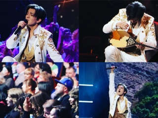 Dimash Kudaibergen shares photos from solo shows in Moscow