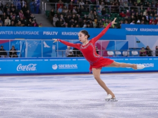 Elizabet Tursynbaeva delivers touching tribute to late Denis Ten