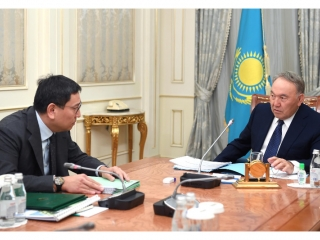National Bank Chairman informs Nazarbayev of situation at financial market