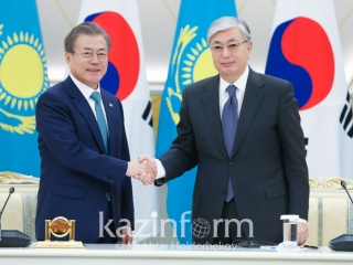 Kazakhstan and S Korea sign documents worth USD 3.5 bln