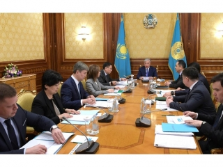 President informed of results of National Bank's activity in 2018
