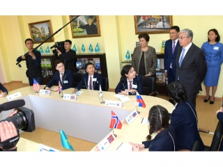 Head of State visits Pavlodar Centre for Youth Initiatives Development