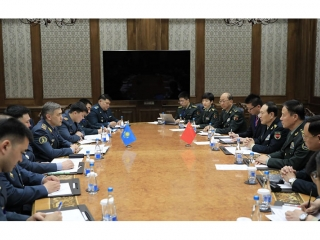 Kazakh defense minister meets with Chinese counterpart