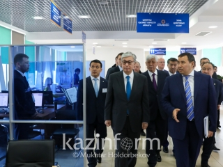 President Tokayev inspects Government for Business project in Almaty region