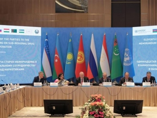 Central Asian countries vow to jointly fight drug trafficking