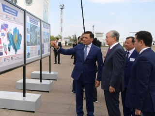 Tokayev familiarized with Uralsk Airport modernization project