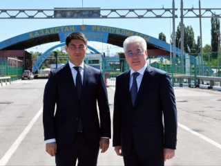 Kazakh FM Atamkulov visited Korday border checkpoint