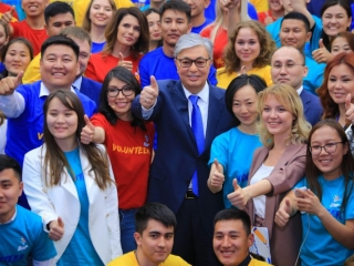President Tokayev supports idea to declare 2020 as Year of Volunteer Movement