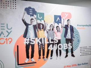 #Skills4Jobs: EU MS Ambassadors share leadership experience with Kazakh youth