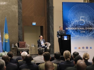 5th International Partnership for Technology in Peacekeeping Symposium kicks off in Kazakhstan