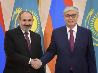 Kazakhstan, Armenia vow to deepen economic cooperation