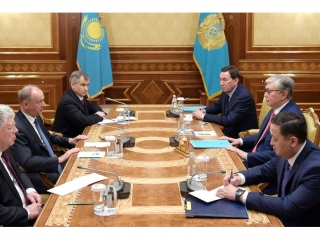 Kazakh President, Secretary of Russian Security Council discuss coop