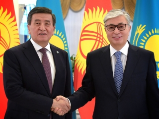 Kyrgyz Leader congratulates Tokayev on Presidential Election win