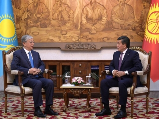 Kazakh, Kyrgyz leaders confident in further strengthening of relations