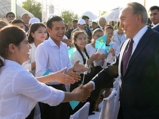 Nazarbayev guided Kazakhstan to the future, view