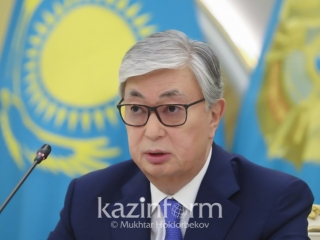 Kassym-Jomart Tokayev thanks volunteers for helping Arys residents