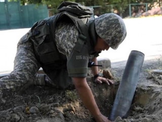 70 unexploded shells found in the town of Arys