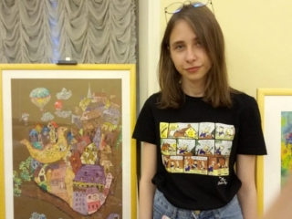 Young Kazakh artist wins big at Saint Petersburg competition