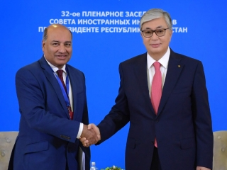 EBRD President hopes for further fruitful cooperation with Kazakhstan