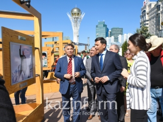 Nursultan Nazarbayev: Developments Epoch expo unveils