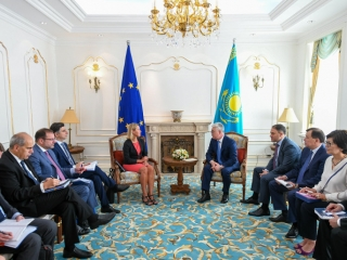 EU - Kazakhstan partnership and cooperation prospects debated