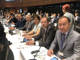 Kazakhstan attends OSCE PA annual session